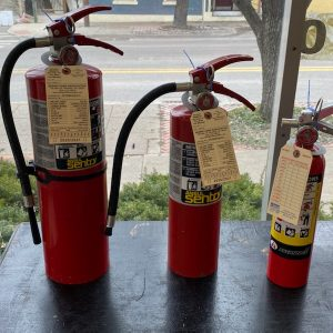 extinguishers